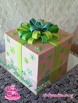 Pink Parcel Cake