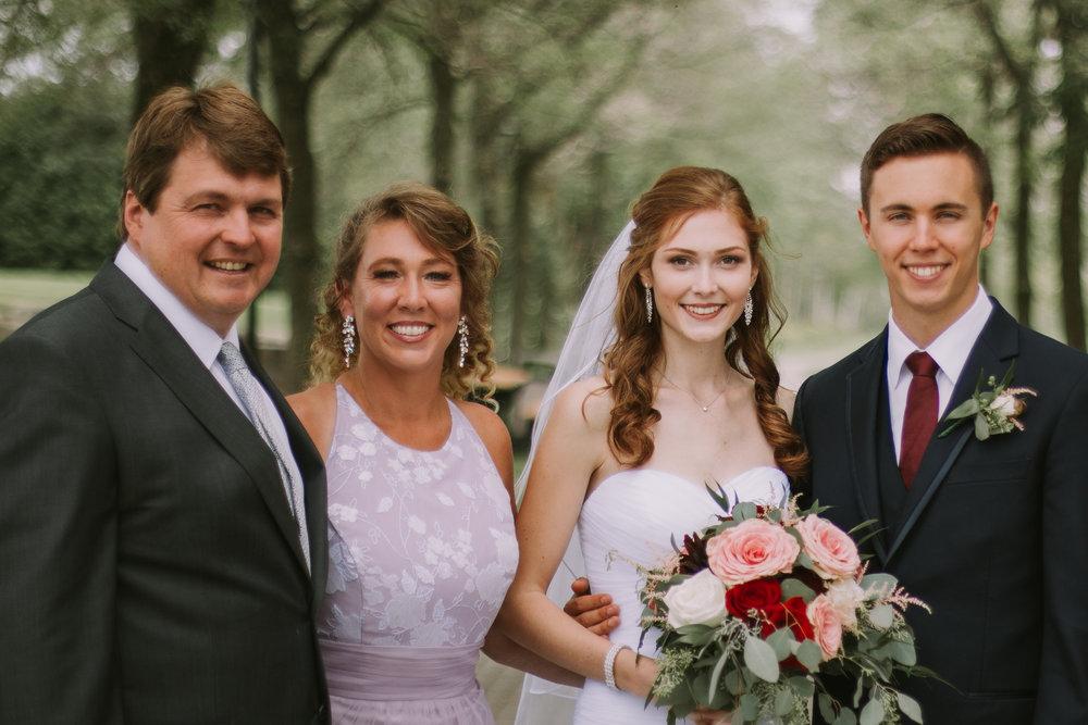 Sheri, Aaron wedding