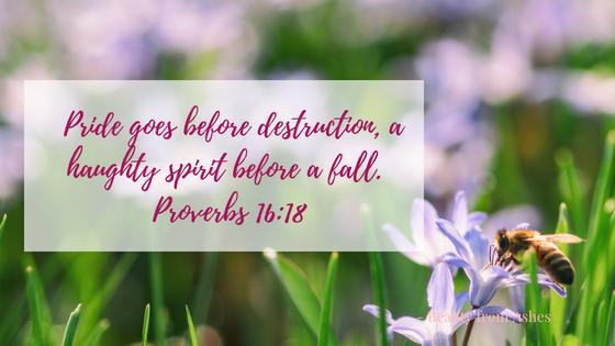 Proverbs 16, 18