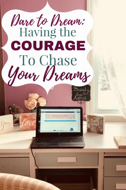 Dare to Dream Pinterest