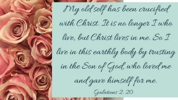 Galatians 2, 20