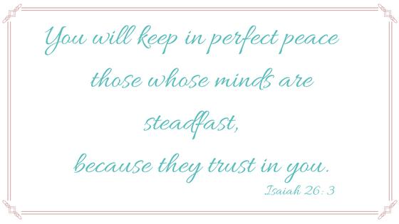 Isaiah 26, 3