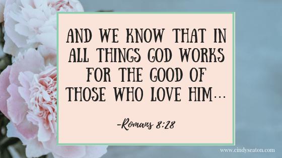 Romans 8:28. Bible verse.