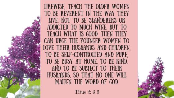 titus 2, 3-5