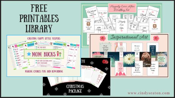 Free Printables Library Photo