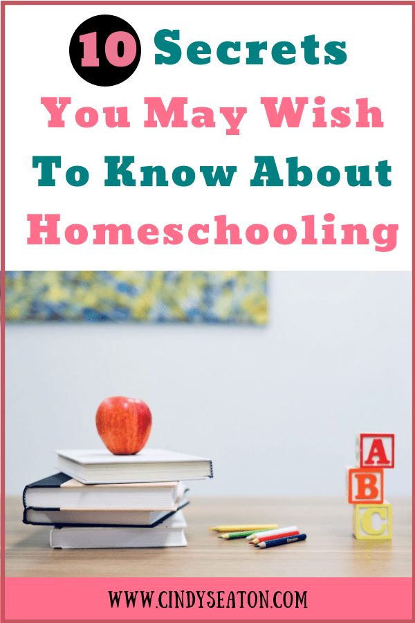 ten secrets you might wish to know about homeschooling