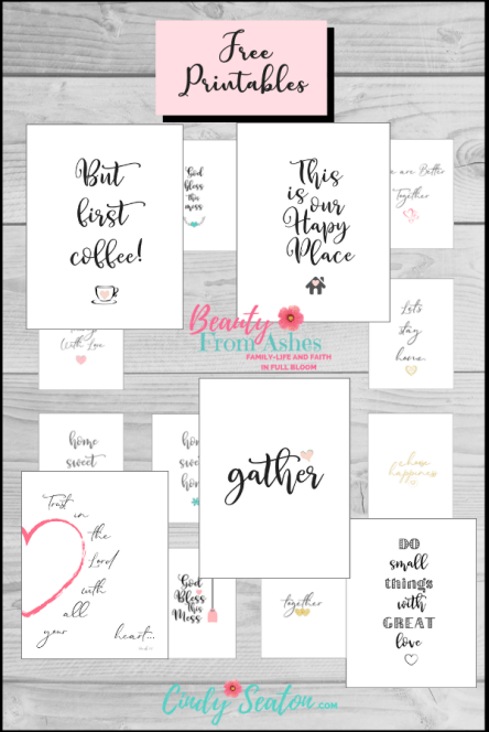 Photo of free printables