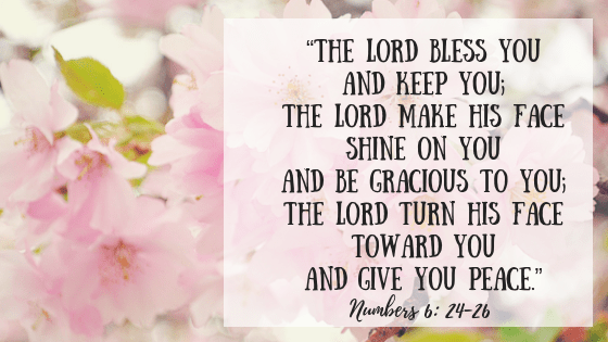 God gives rest and peace in this scripture.