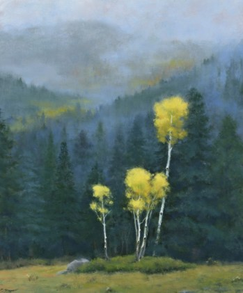 Aspen In The Mist (SOLD)