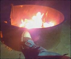 Lovely bon fire.