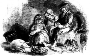 Irish famine immigrants