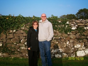 Tom&Cindy Thomson, Ireland 2010