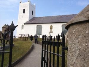 Ballintoy Church from author Cindy Thomson
