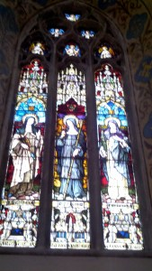 St. Brigid Stained Glass in Ireland