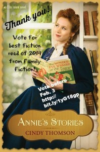 Annie's Stories in Family Fiction Poll