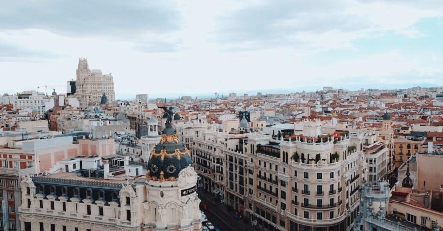Madrid Spain views