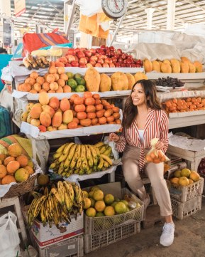 Peru Fruit Market