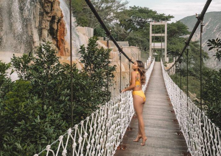 Grutas de Tolantongo bridge
