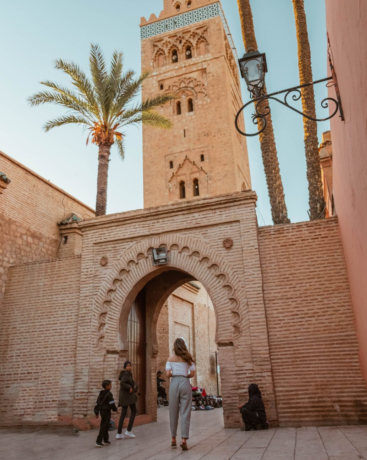 Koutoubia mosque tower in Marrakech - a quick travel guide to Marrakech