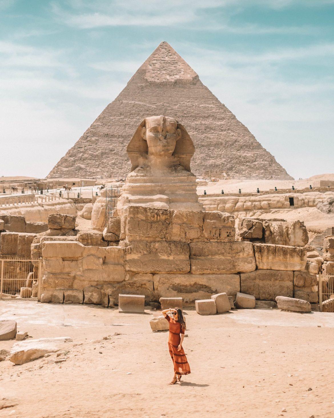cindyycheeks at the Great Pyramids of Giza