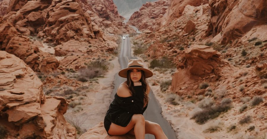 cindyycheeks at Valley of Fire - Nevada & Arizona road trip guide and itinerary