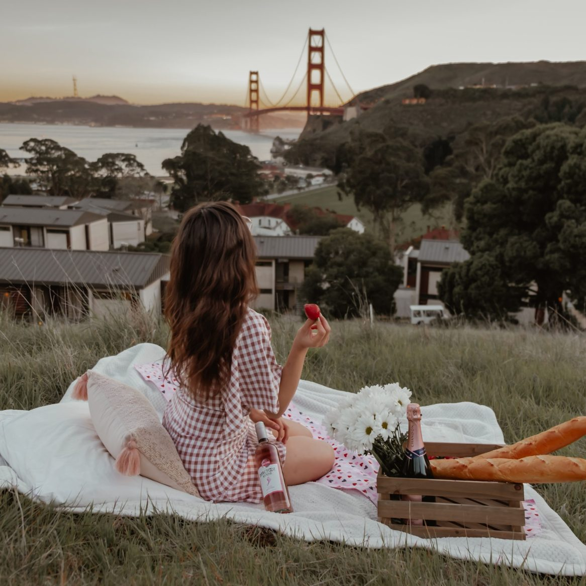 San Francisco picnic - 16 places to to visit in California