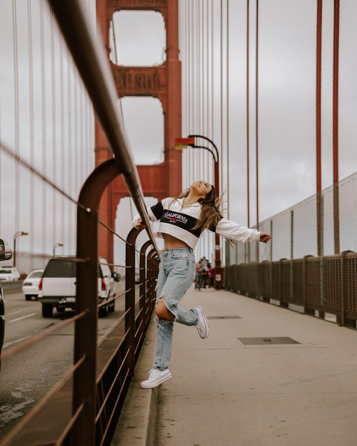 The Perfect 3-Day San Francisco Itinerary | the perfect 3-day itinerary for your next trip to San Francisco. Golden Gate Bridge, San Francisco outfit, San Francisco photo idea, California travel