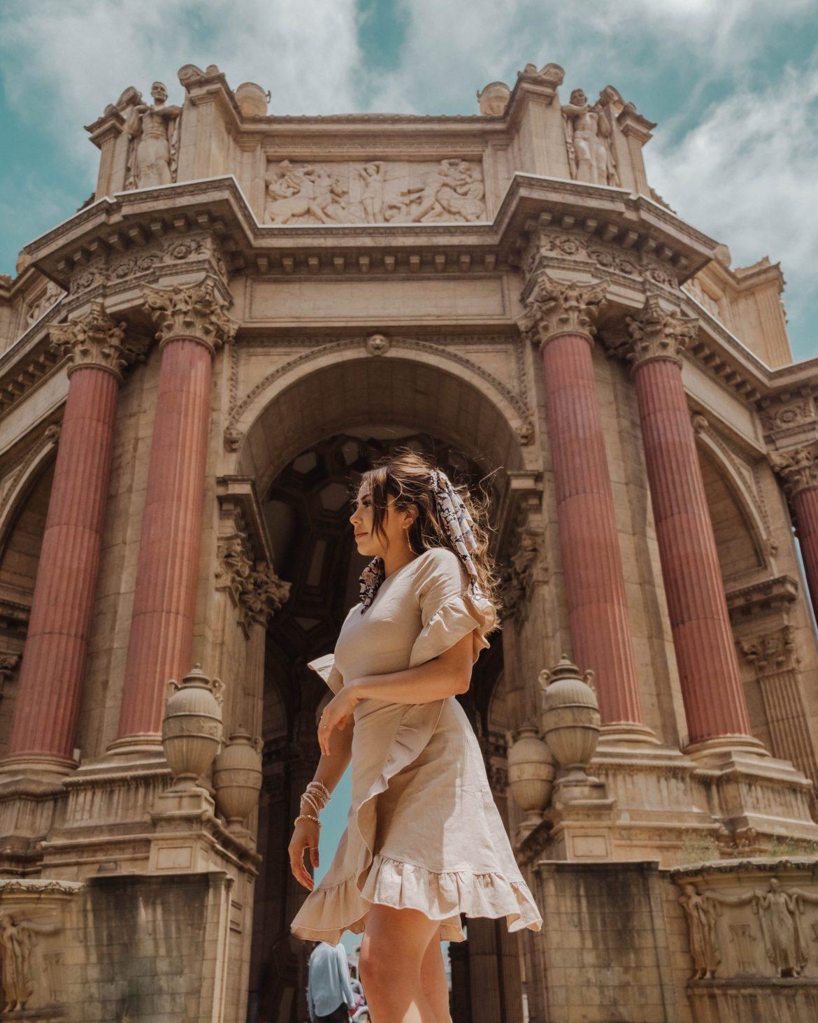 The Perfect 3-Day San Francisco Itinerary | Palace of Fine Arts, San Francisco outfit, San Francisco photo idea, California travel
