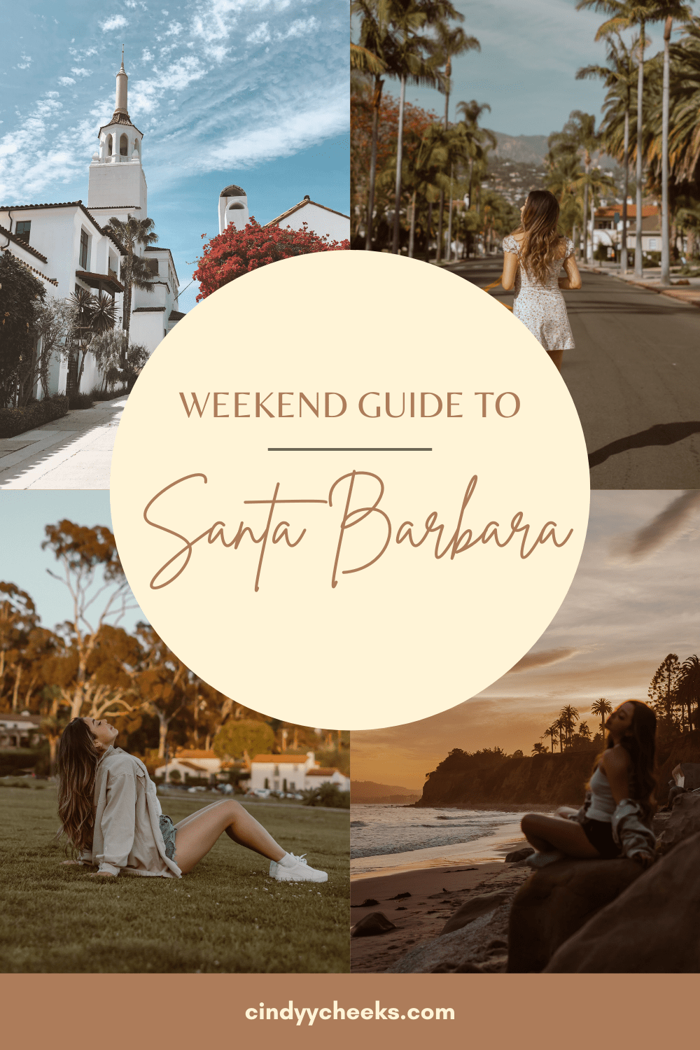 Weekend Guide to Santa Barbara - this guide includes dreamy places in Santa Barbara, creative photography, where to eat in Santa Barbara, and things to do!