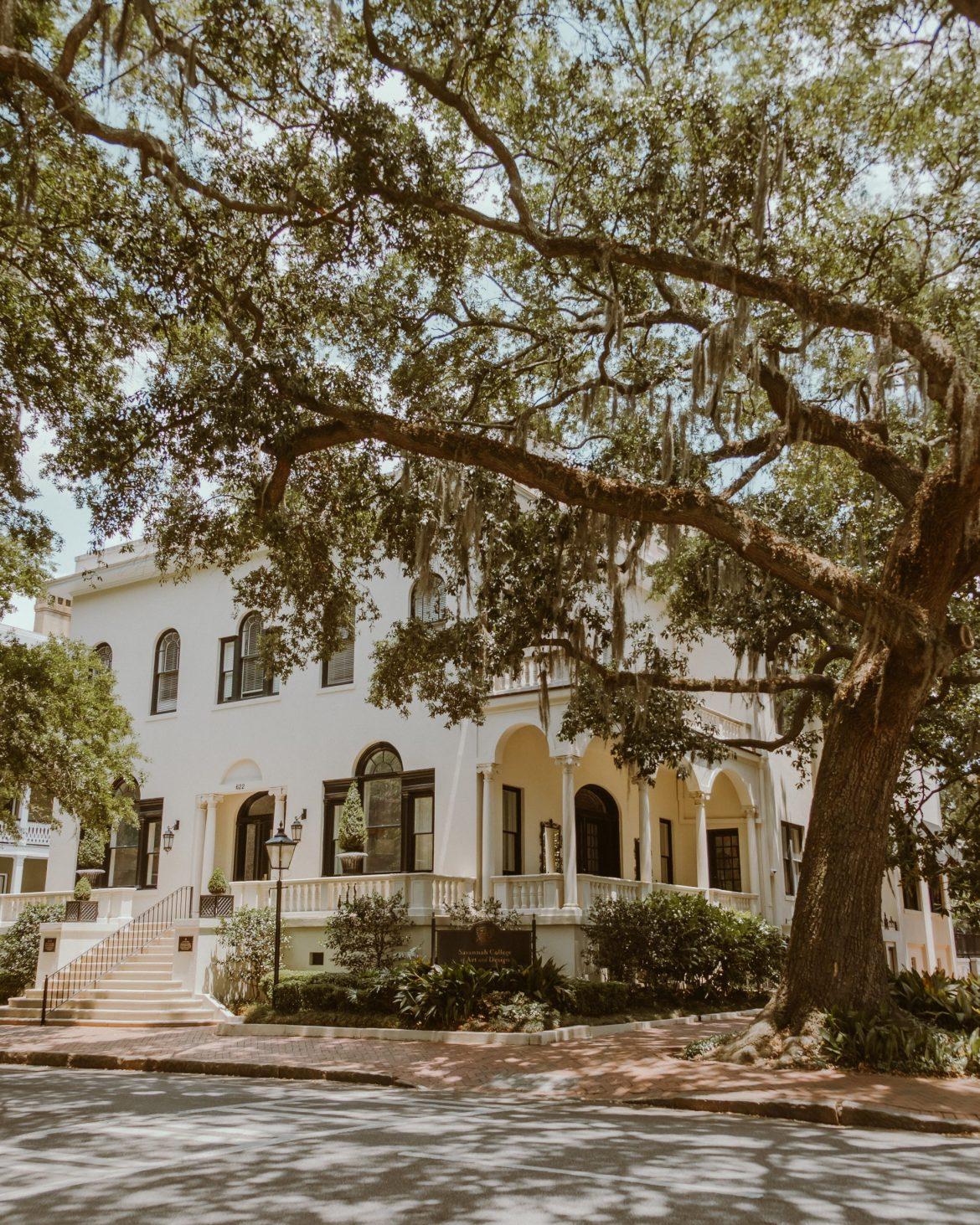Pretty Southern Homes in Savannah, Georgia