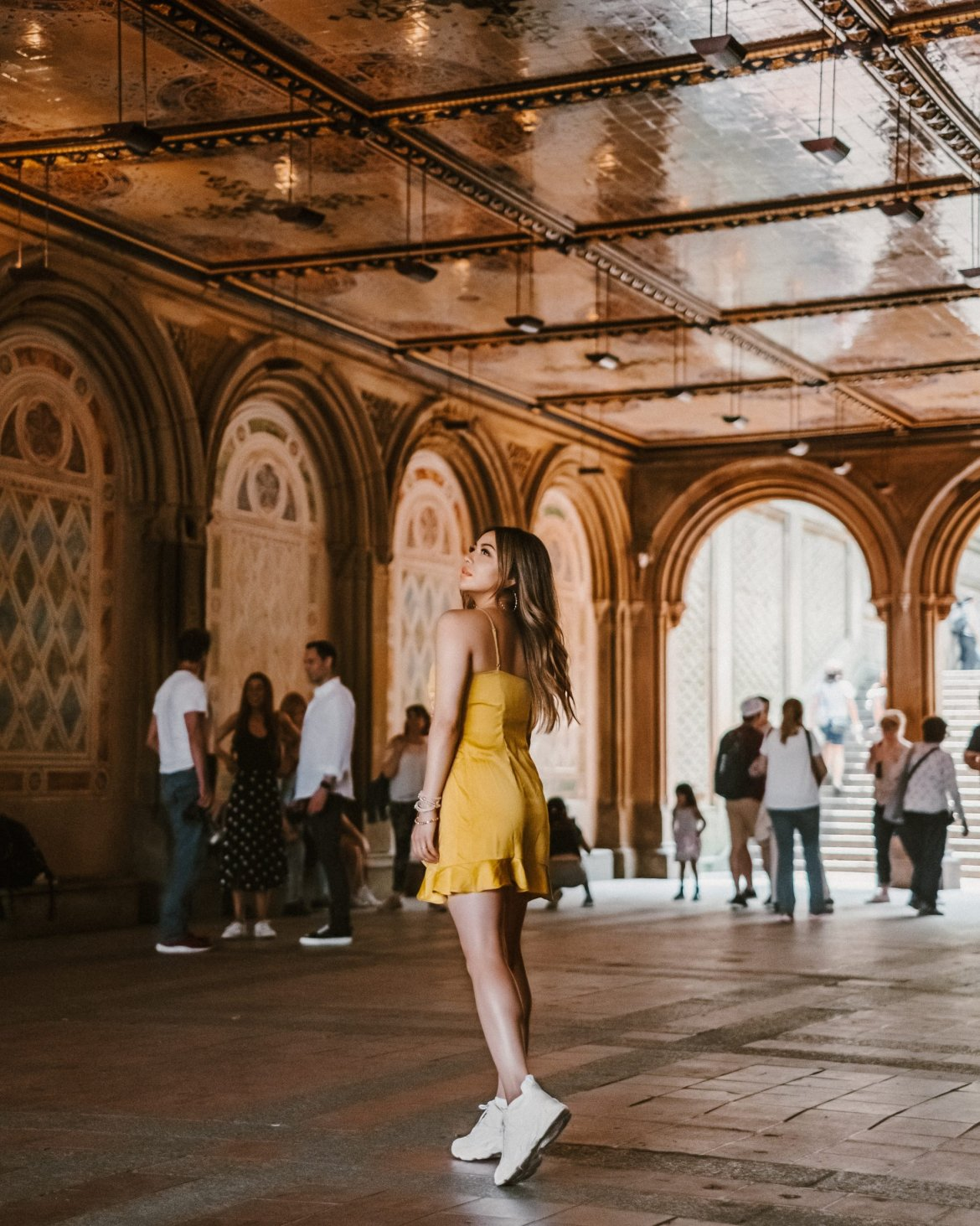 17 Best Instagram Worthy Spots in New York | Central Park outfit, Central Park photography