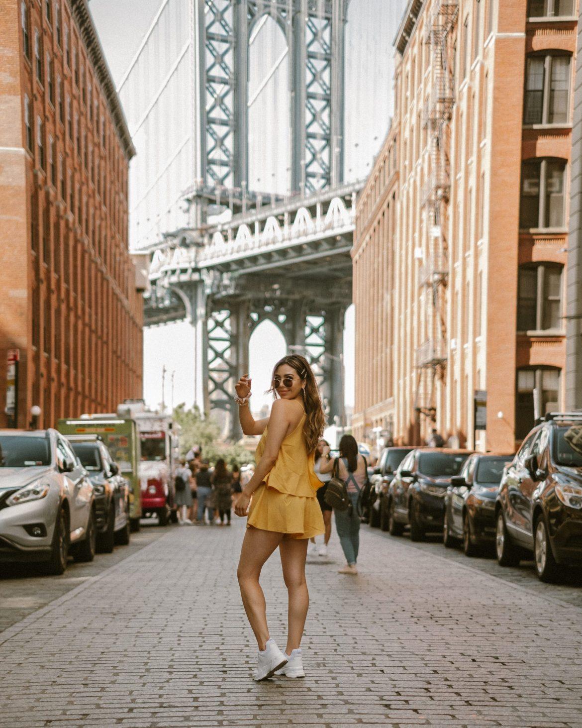 17 Best Instagram Worthy Spots in New York | DUMBO Manhattan Bridge