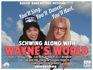 Prince Charles Cinema: 'Schwing along with Wayne's World'