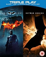 Competition: Win 'Batman Begins' & 'The Dark Knight' on Triple Play *closed*