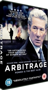 Competition: Win 'Arbitrage' on DVD *closed*