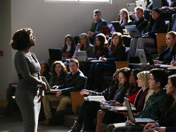De la salle de classe… - photo Mitchell Haaseth pour ABC