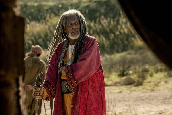 Morgan Freeman et Paul. - photo Paramount Pictures