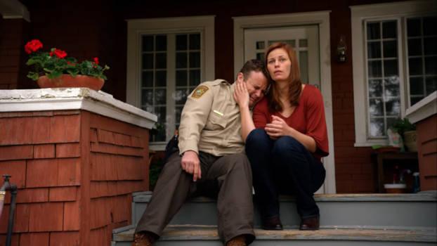 Adam Bartley et Cassidy Freeman dans Longmire