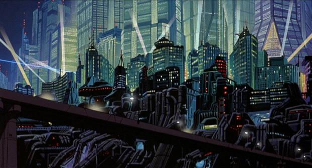Neo-Tokyo dans Akira