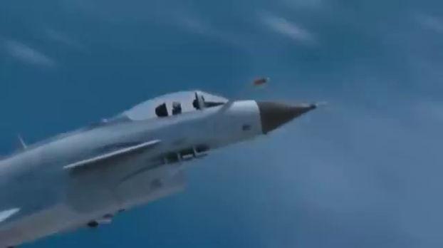 Incidence d'un J-10 en panne moteur