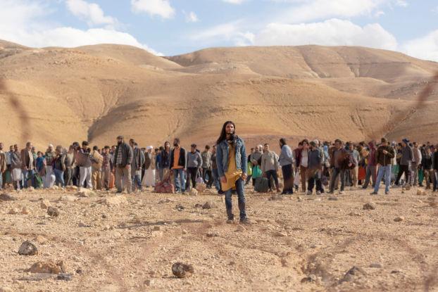 Traversée du désert par al massih et ses suiveurs