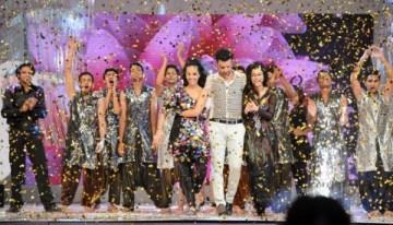 Atif Aslam, Aamina Sheikh & Humaima Malik at  at 13th Lux Style Awards 2013