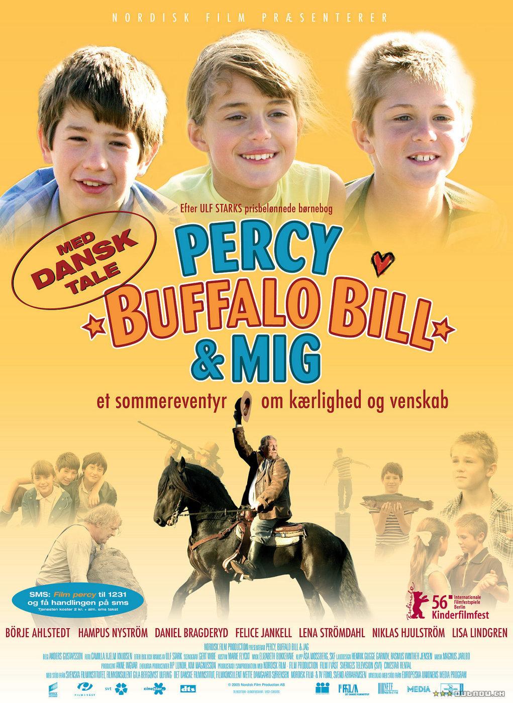 Percy, Buffalo Bill & Jag