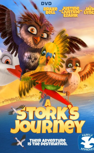 En Una Cigüeña en Apuros, Richard es un gorrión que fue criado y adoptado por una familia de cigüeñas. Él está convencido que de ser una de ellas.