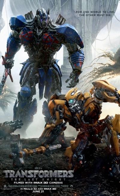 """Con """"Transformers: El último caballero"""" saltan por los aires los mitos fundacionales de la saga Transformers y se redefine lo que significa ser un héroe."""