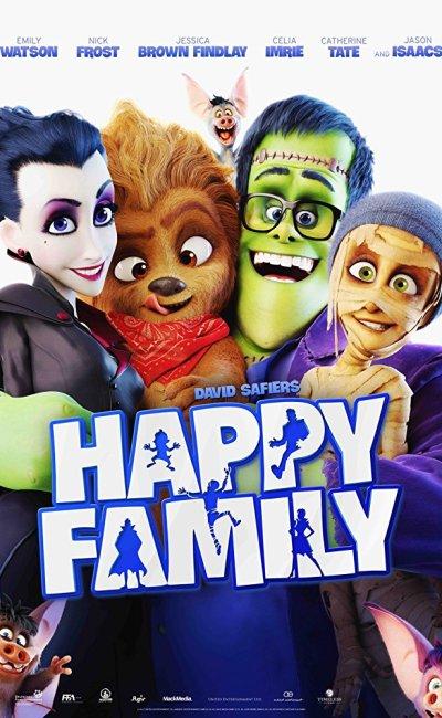 En La Familia Monster (Happy Family), la familia Wishbone es todo menos feliz. Tienen un negocio en banca rota, papá está exhausto y los hijos sufren de bullying.