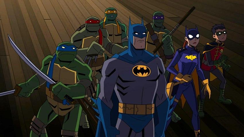 Batman et les Tortue Ninjas