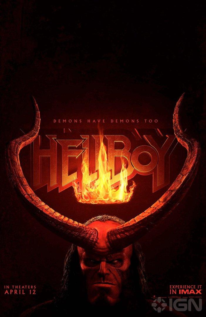 Nuevo póster de Hellboy