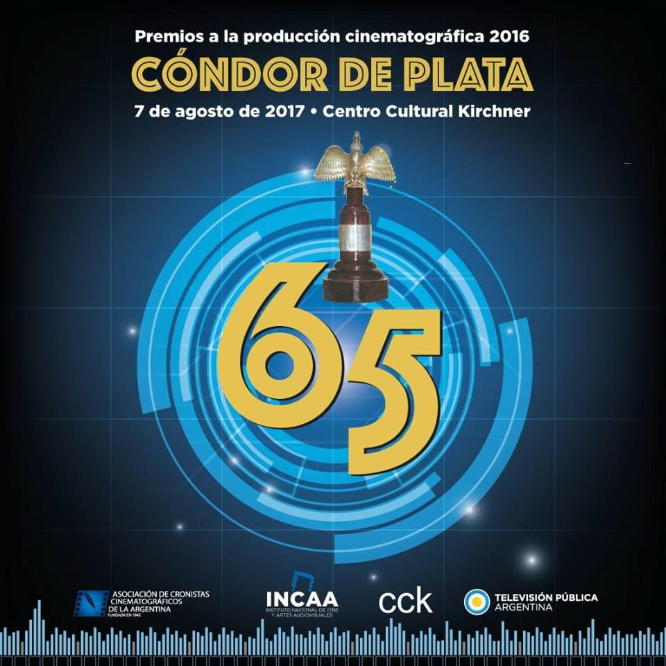 Palpitando la 65º entrega de los premios Condor de Plata