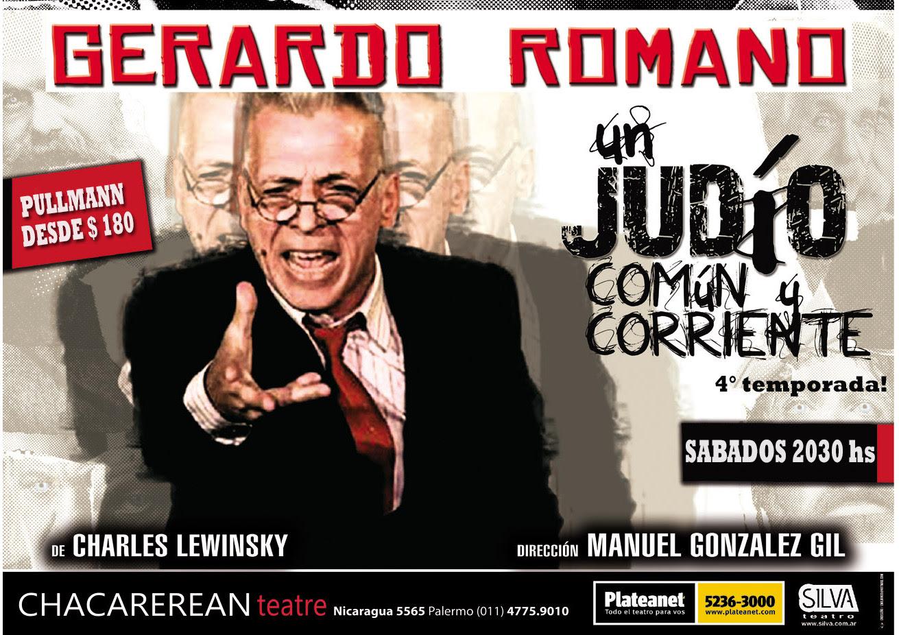 """""""Un judío común y corriente""""con Gerardo Romano regresa en la cuarta temporada"""